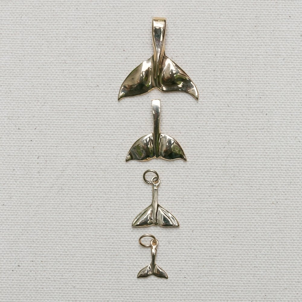 Whale Tail Pendant