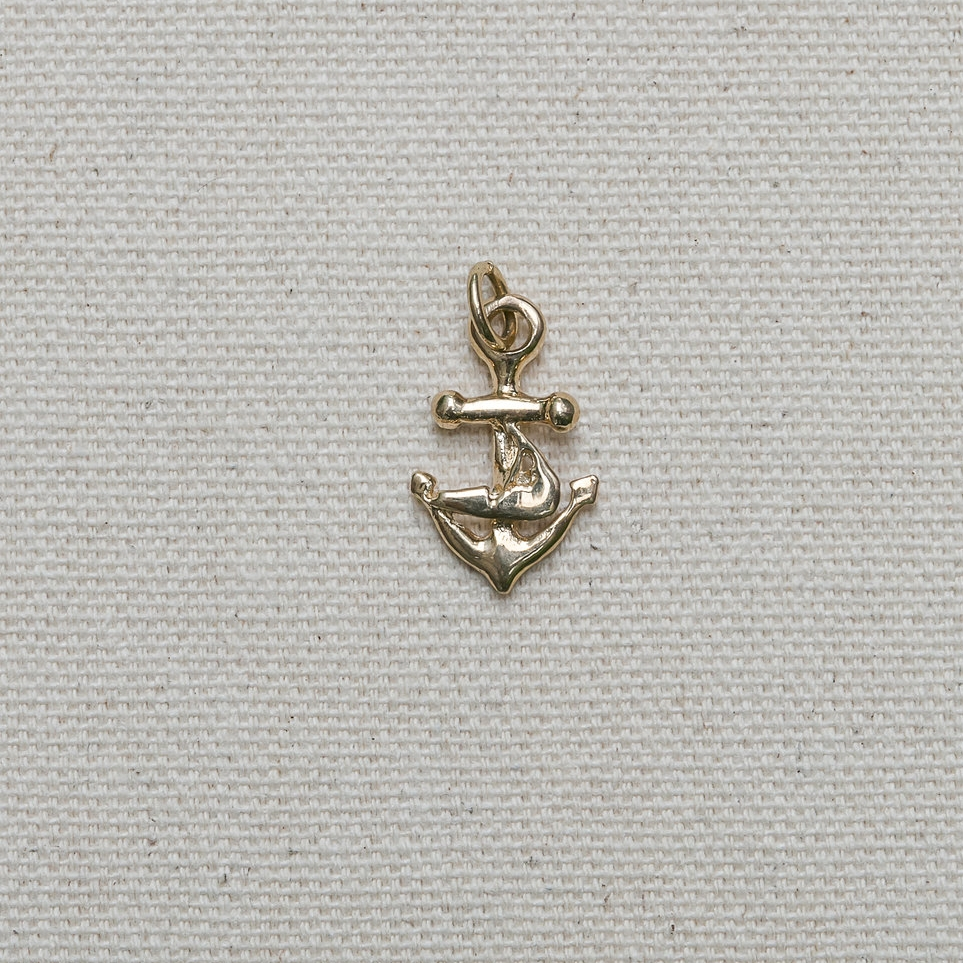Anchor with  Island Pendant