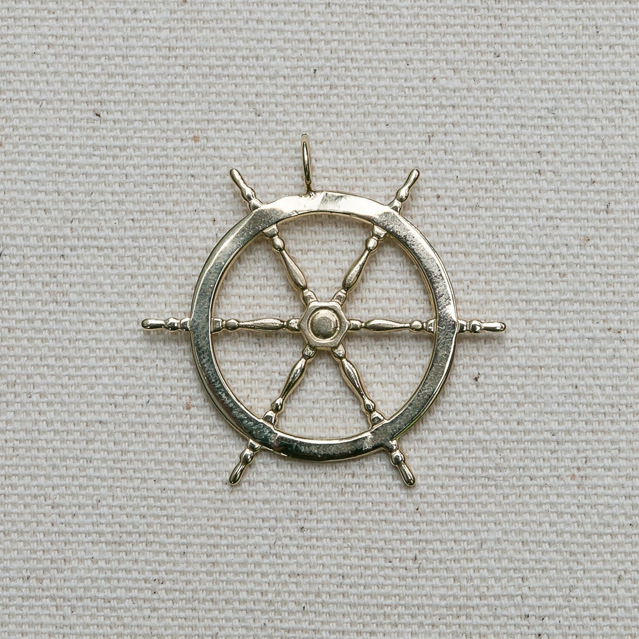 Captain's Wheel Pendant