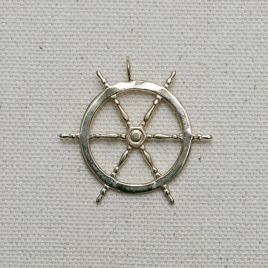 Captain's Wheel Pendant