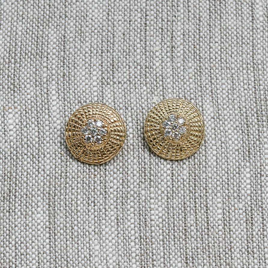 Diamond Basket   Top   Earrings
