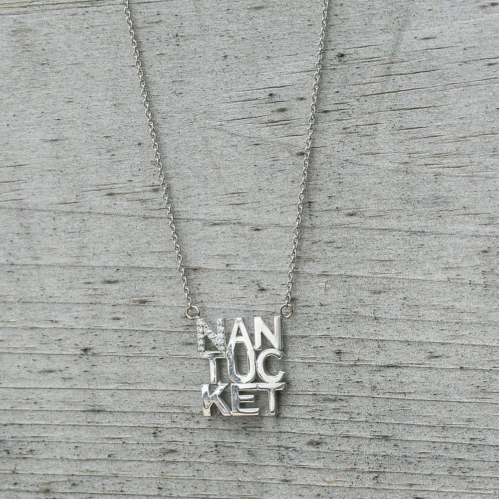Diamond Nantucket Necklace