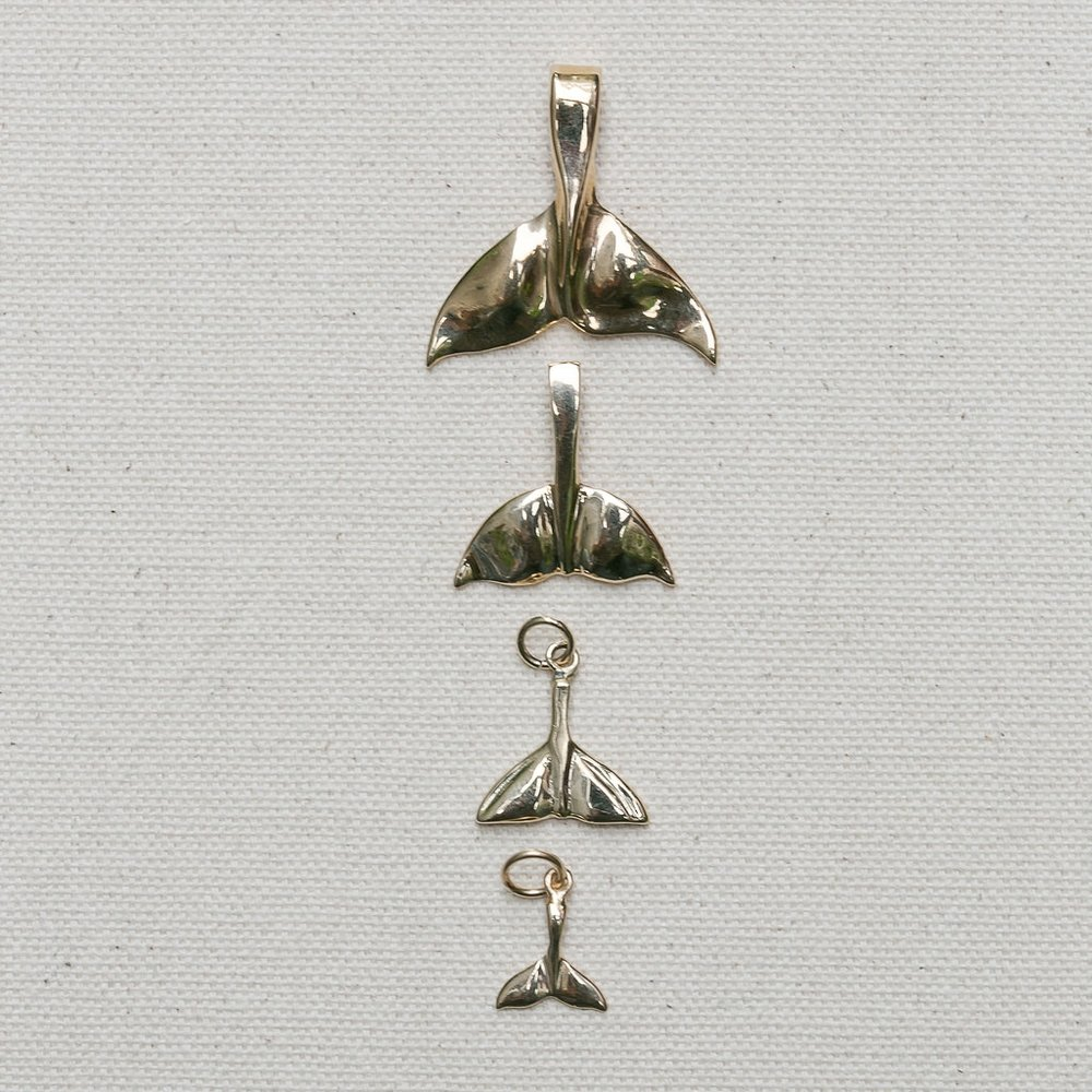 Whale Tail Charm