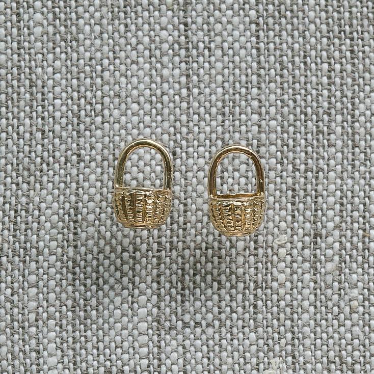 0a5066986 Basket Earring — Jewel in the Sea