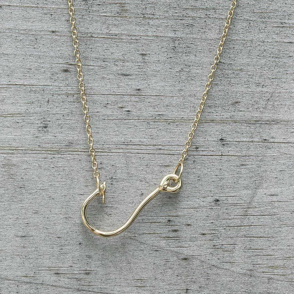 Fishhook Necklace