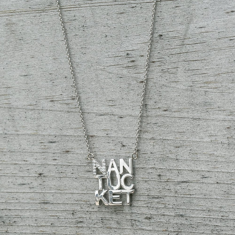 Diamond Nantucket Necklace