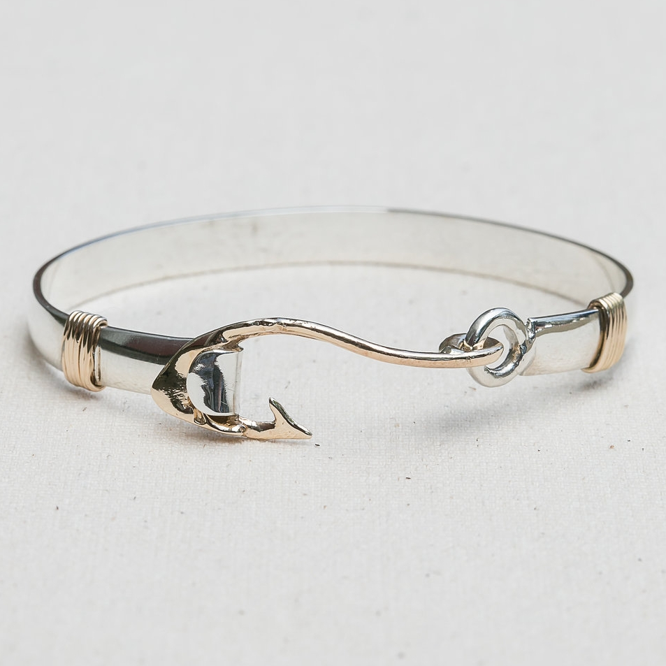 "Hooked on ""ACK"" Bangle"