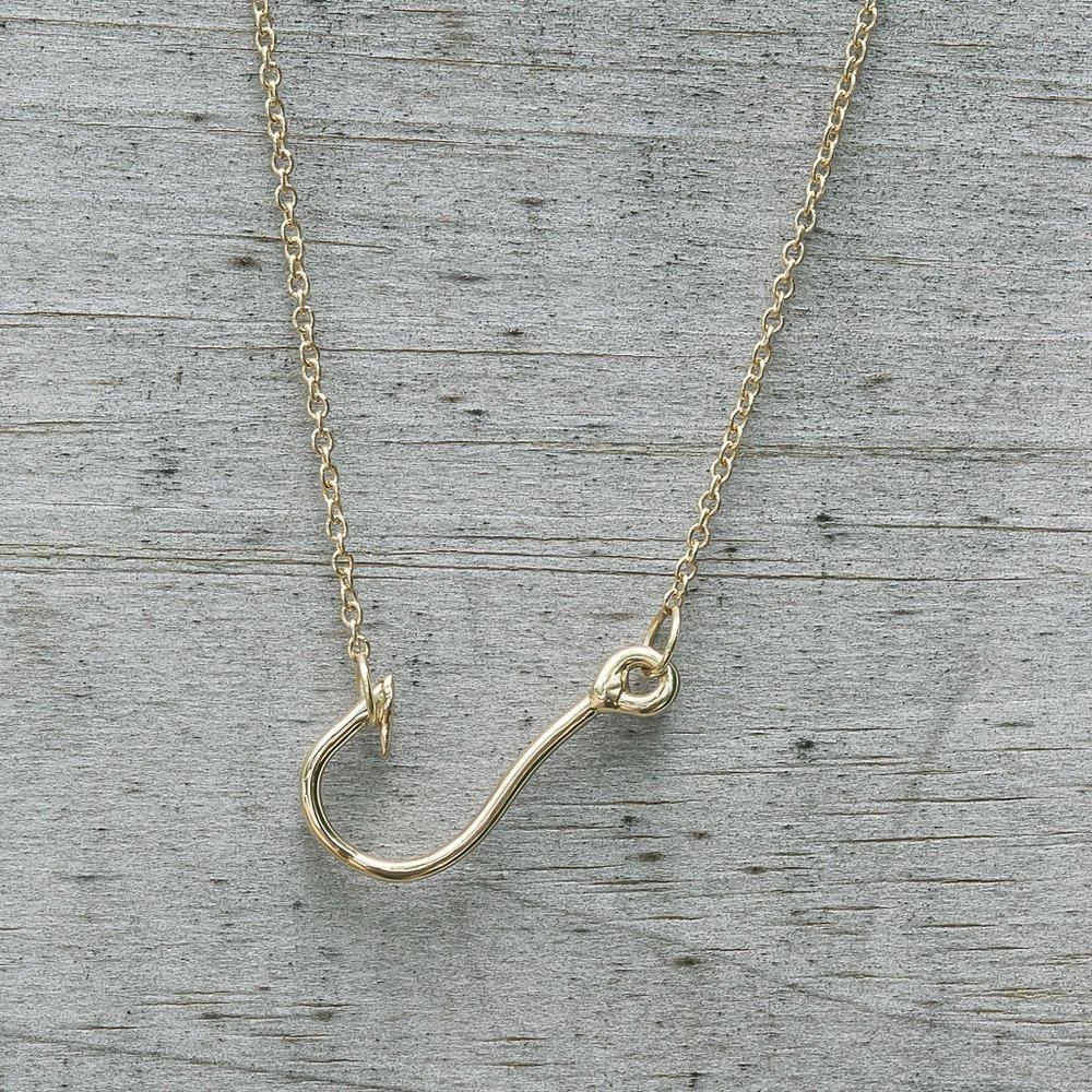 Fishhook Necklace
