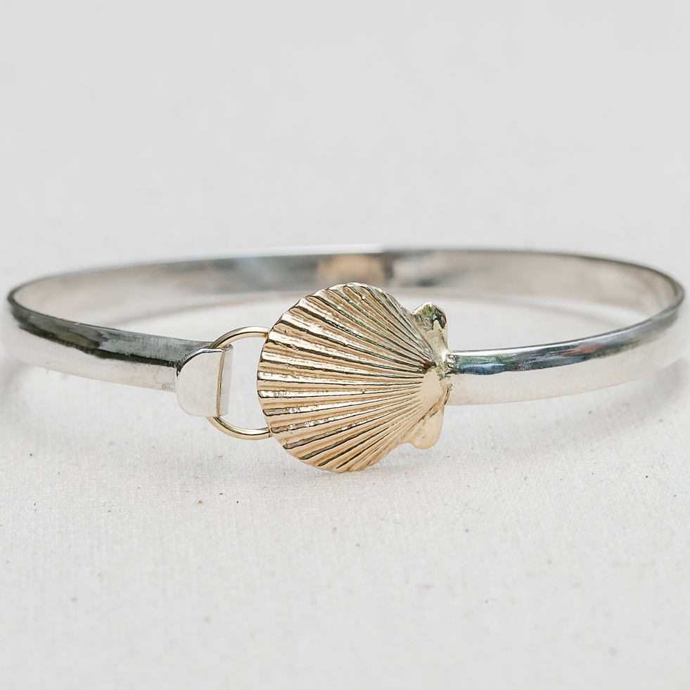 Scallop Bangle
