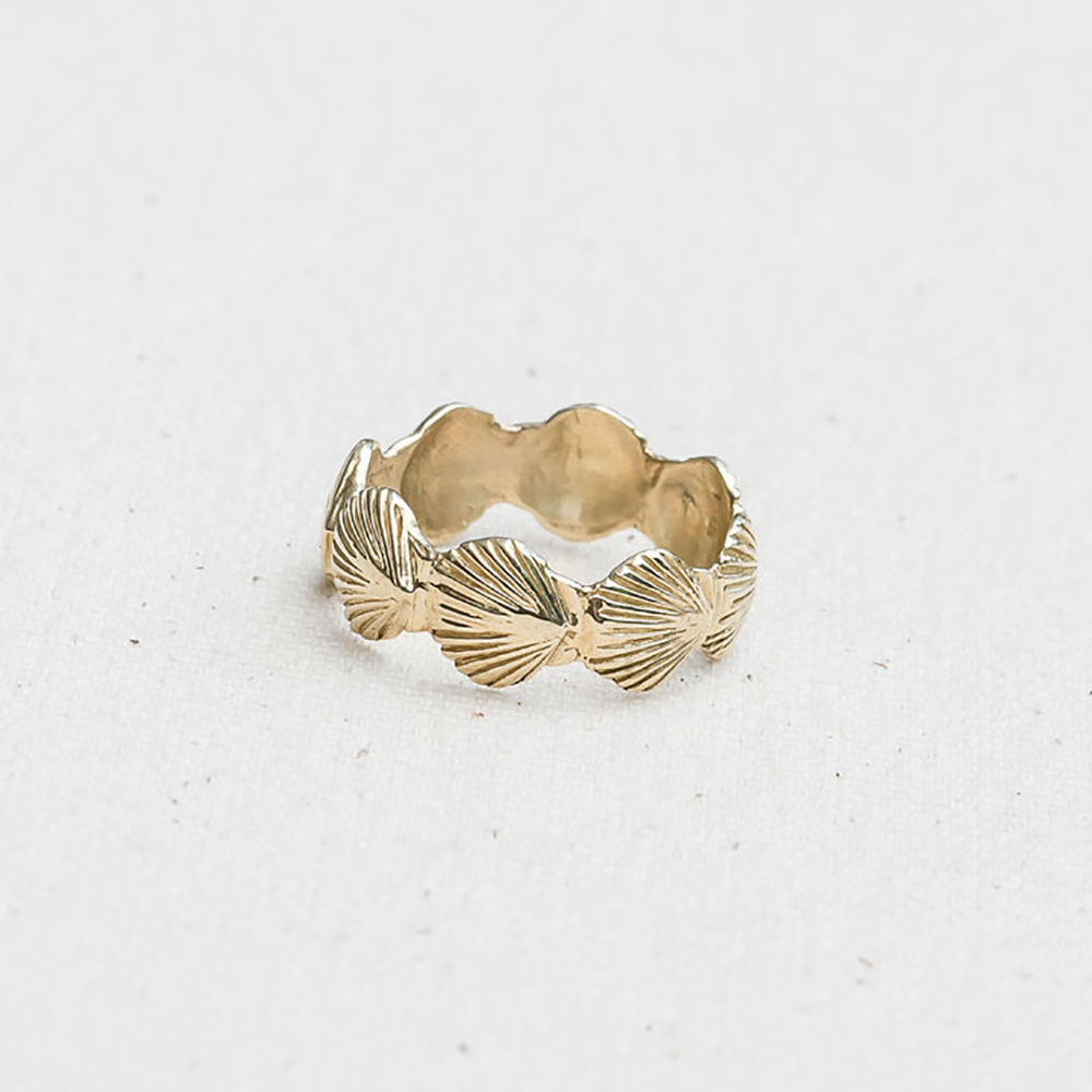 Eternity Scallop Ring Jewel In The Sea Nantucket