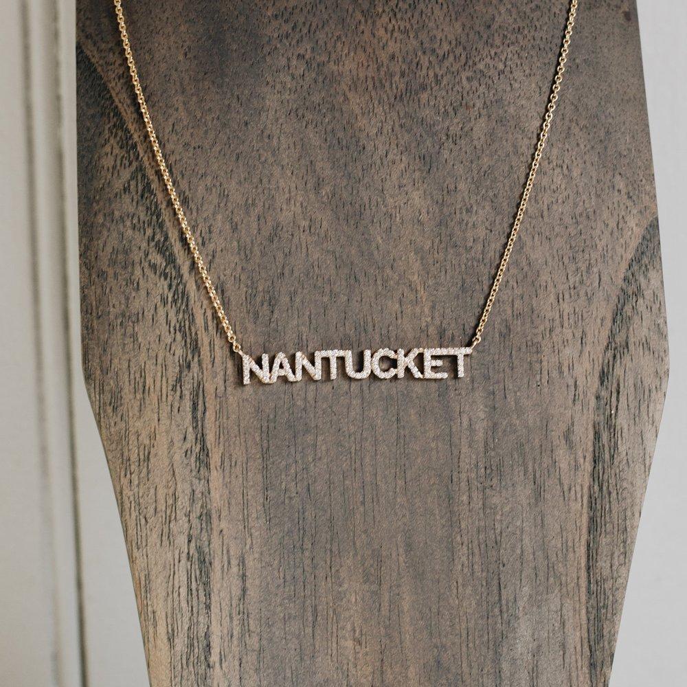 "Diamond ""NANTUCKET"" Necklace"