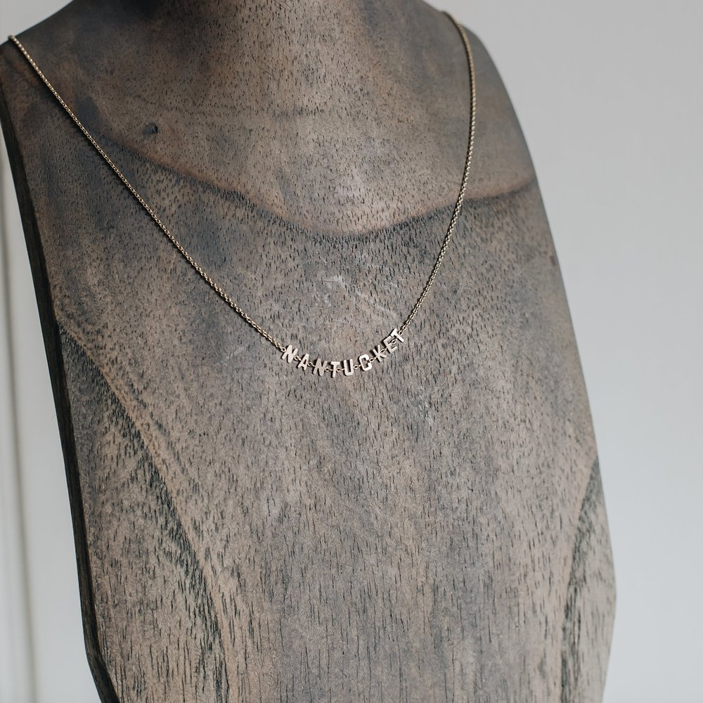 M-A-D-A-K-E-T Necklace