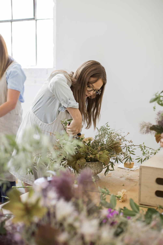 Amanda Page -  Owner  Lead Floral Designer