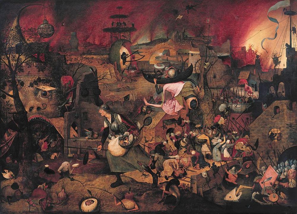 Dulle Griet , Pieter Brueghel, 1562