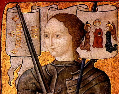 Joan of Arc,  Miniature, 15th c.