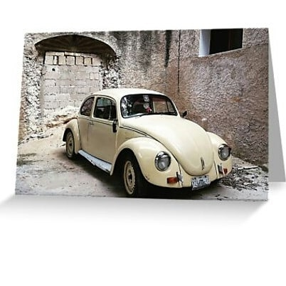 Today only get 20% off all items in my #redbubble store!  I've been uploading tons of new #greetingcards and #postcards like this #VW #bug (#Volkswagen #Beetle) spotted in #Mexico, in the southern state of Quintana Roo.  Send better #cards. Buy #originalart and #photography and support a #queer #artist!  Link to shop: www.redbubble.com/people/forwardimages/shop  #queerart #bacalar #car #travel #cars #vocho #motorhead