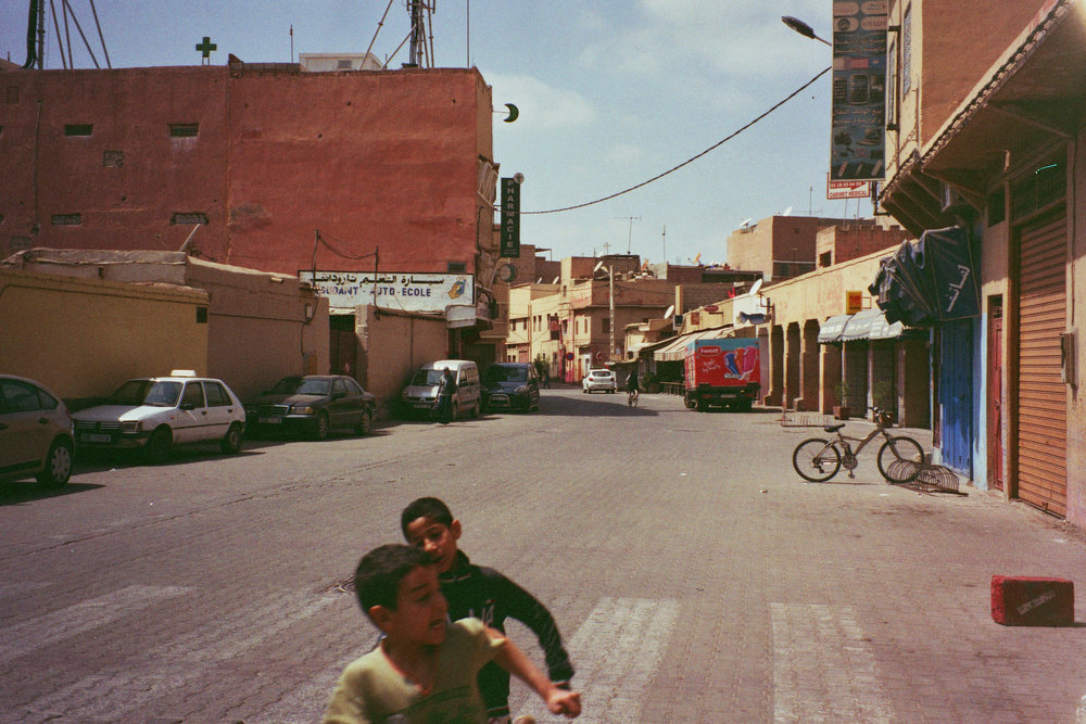 MITTWUCH-NAMI / Marokko, April '18, 35 mm