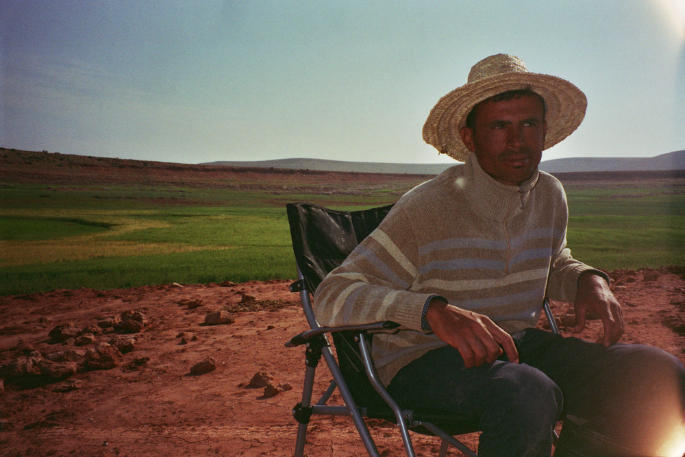 MOHAMMED MIT HUT / April '18, 35 mm