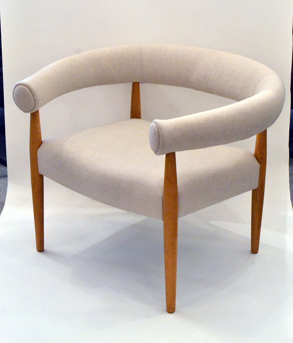 Ring Chair In The Style Of Nanna Ditzel
