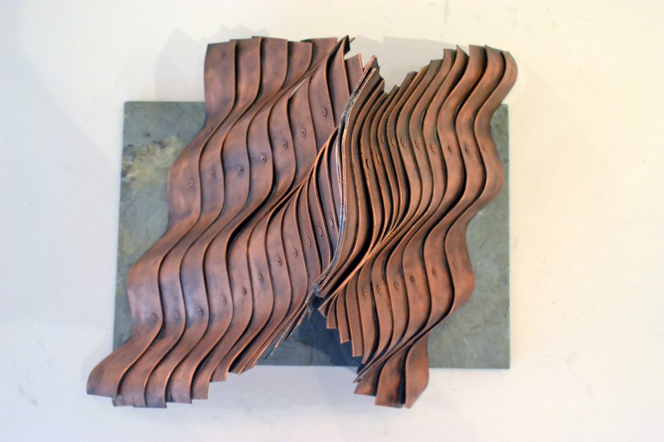 Copper Pyramid by Duayne Hatchett — LOST CITY ARTS