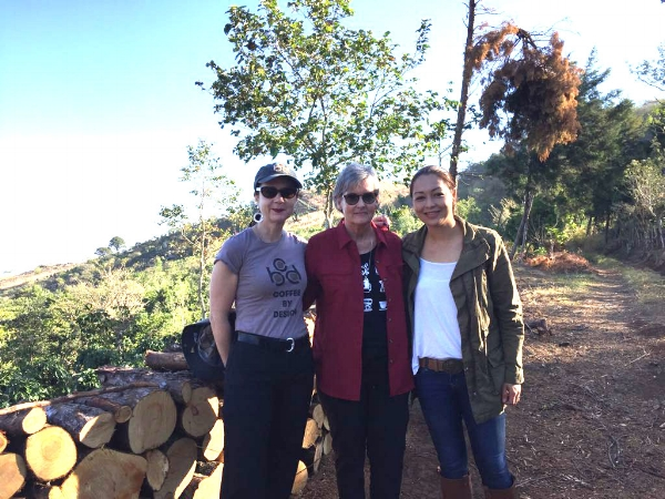 Mary Allen Lindemann, Nancy Langer, and Celeste Fumagalli. February 2018.