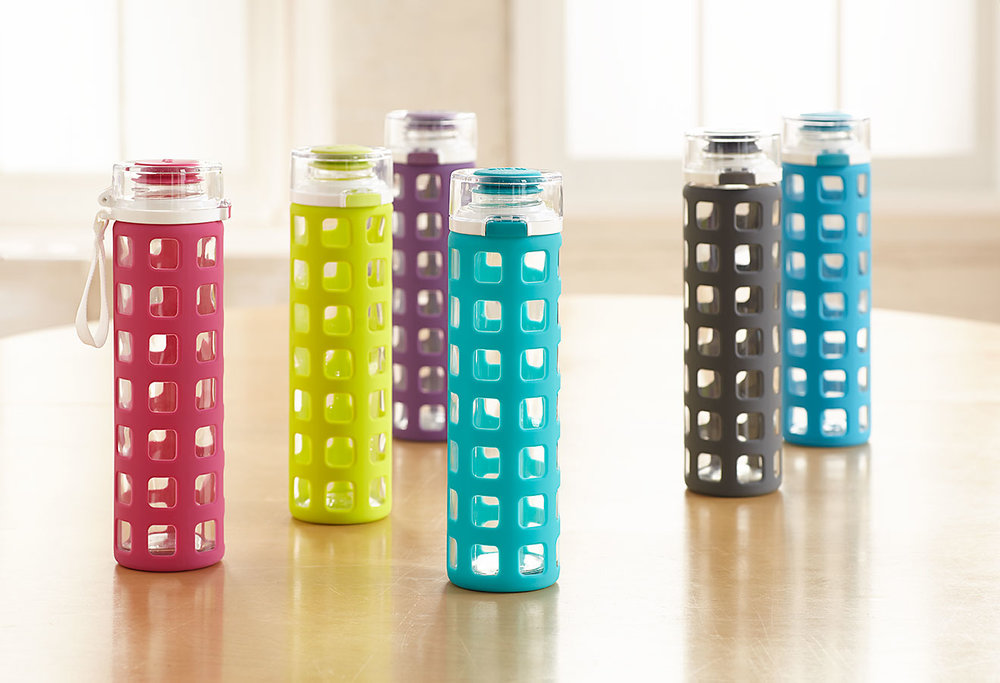 Syndicate Glass Water Bottles