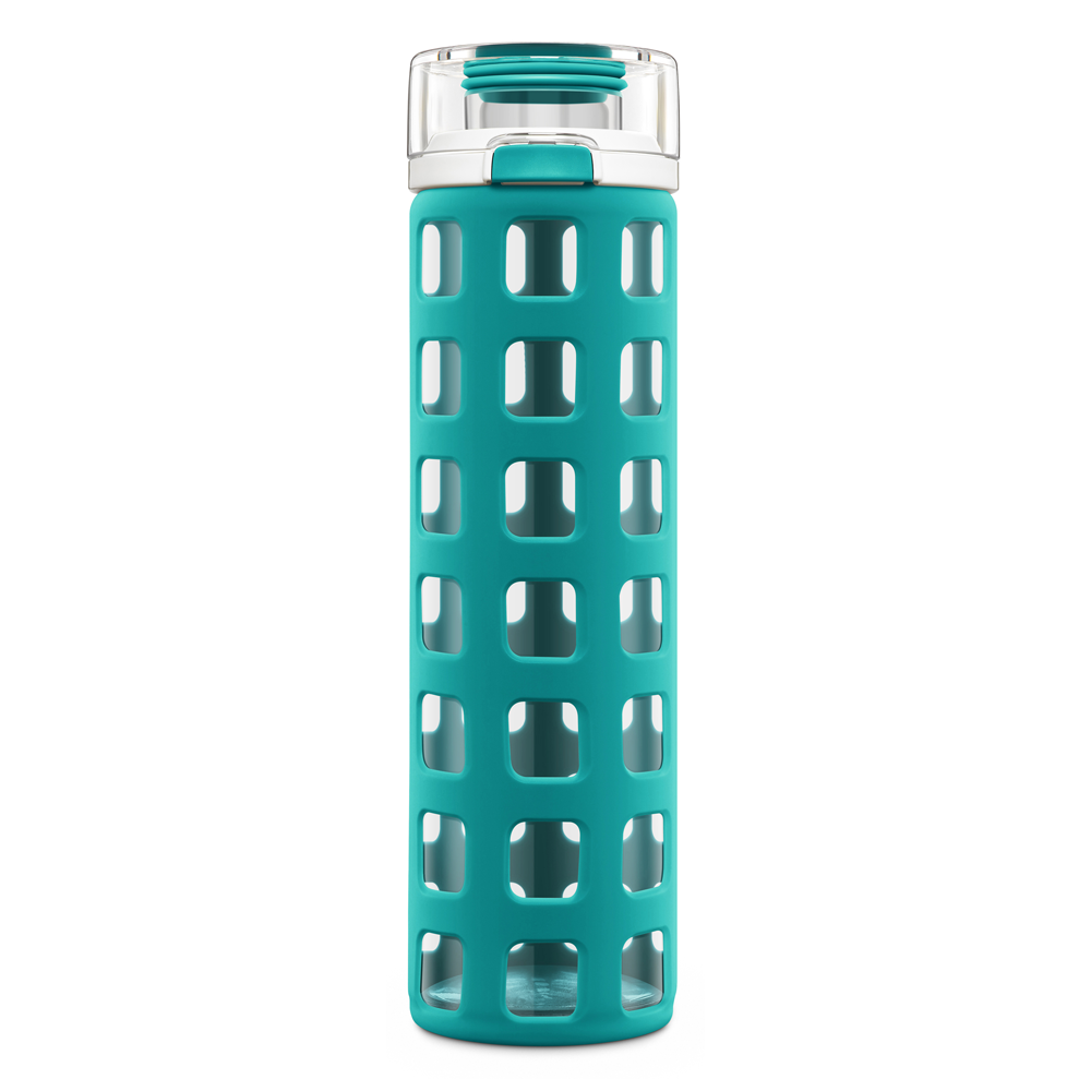 SYNDICATE GLASS WATER BOTTLE