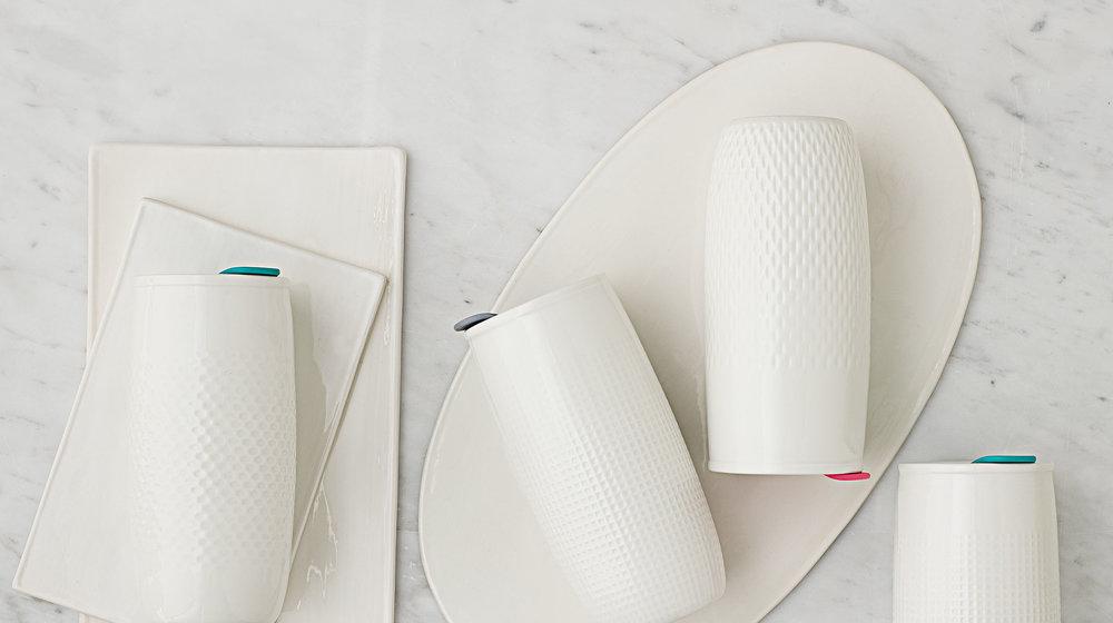 Mesa Double Wall Insulated Ceramic Travel Mug