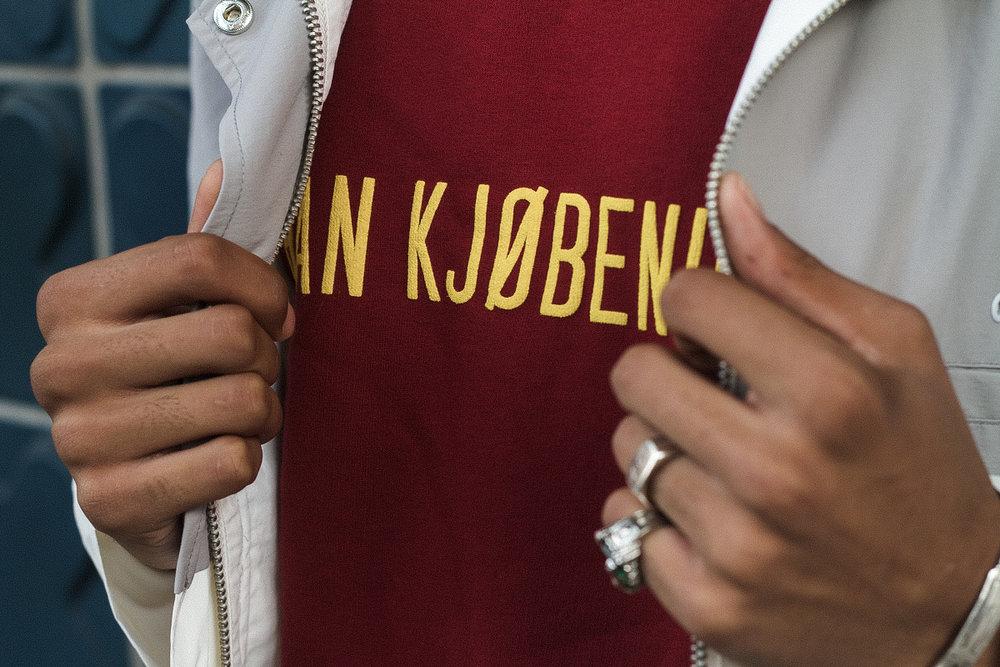 Sweater: Han Kjøbenhavn (available In-Store)