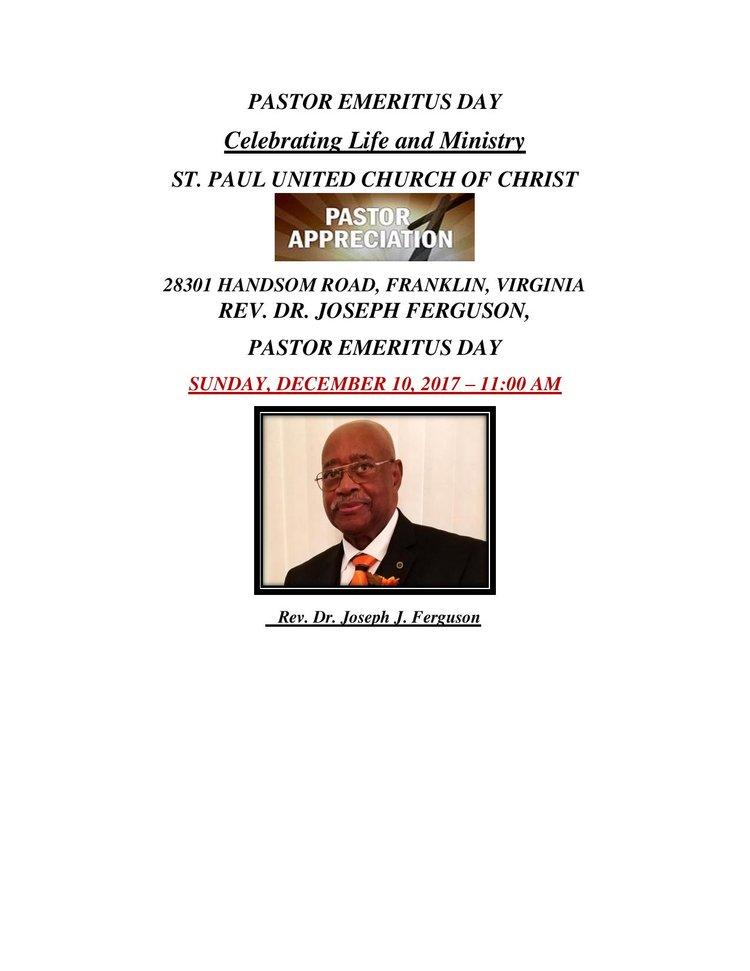Pastor emeritus day st paul united church of christ southern pastor emeritus day eva ferguson page 001g publicscrutiny Gallery