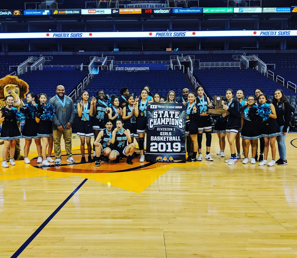 Canyon Athletic Association Division 1 State Champions