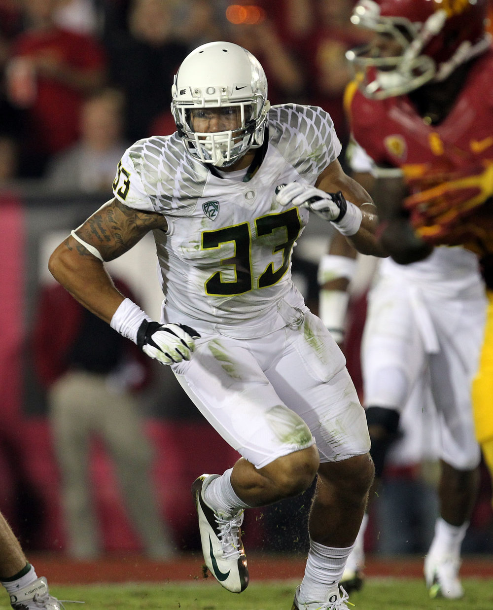 Tyson Coleman - - Position - LBCollege - OregonFootball Fact: Tyson, a former 4-star recruit out of Lake Oswego High School, had highly successful career at University of Oregon, where he logged 162 career tackles in helping the Ducks to four consecutive bowl appearances including a national championship appearance during the 2014 season. He started the final 28 straight games of his career.