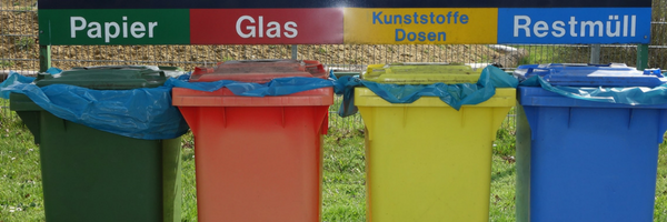 Fun Fact: Germany has the highest overall recycling rate in the world with more than 50% of their total municipal waste being recycled!