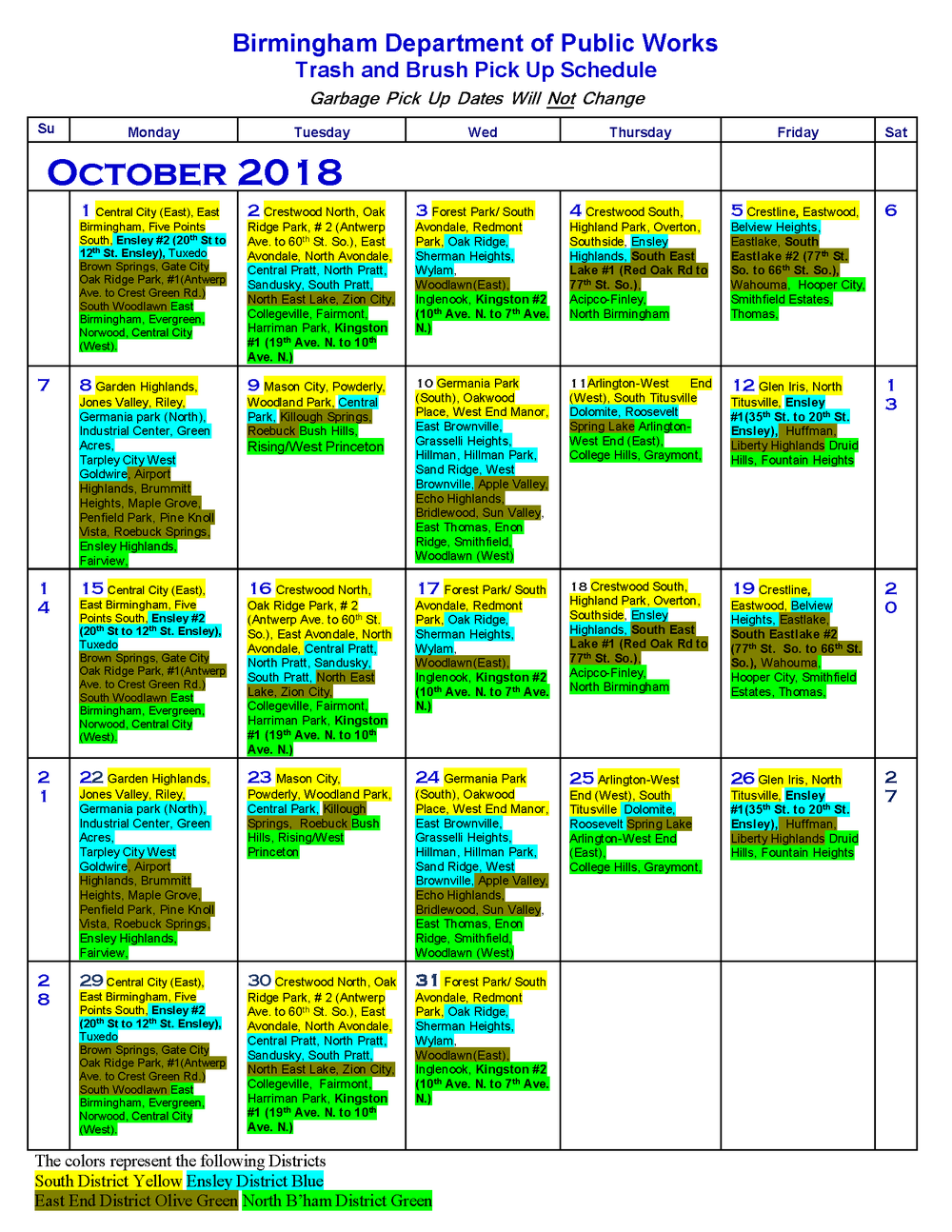 19-October, 2018 trash and brush schedule.png