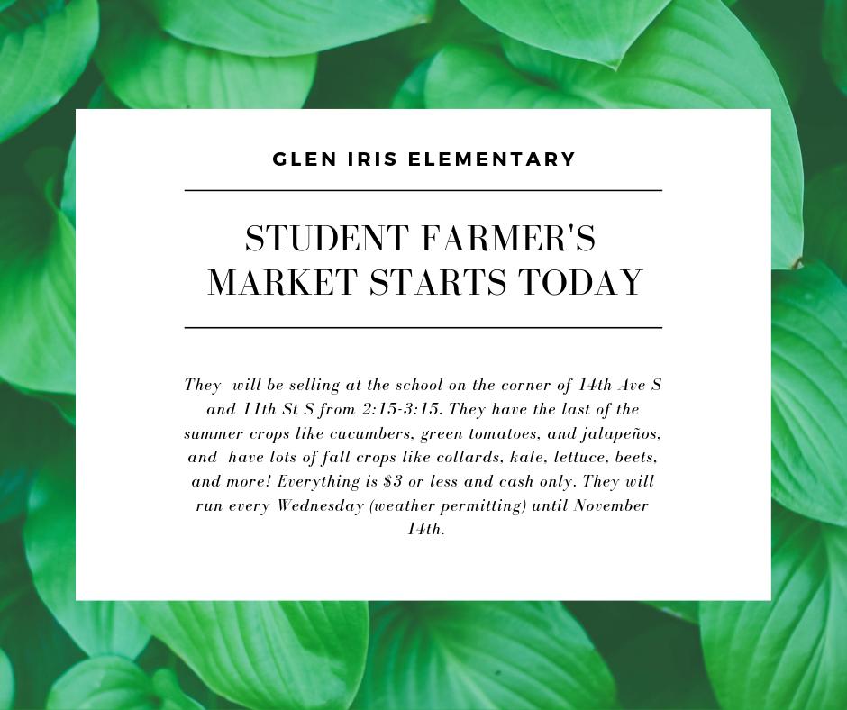 Glen Iris Elementary Farmers Market.png