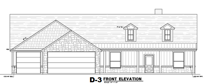 2250 Elevation D3 with Dormers Front Elevation.png