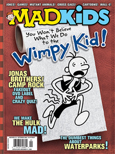 Mad Magazine for Kids #12, 2008