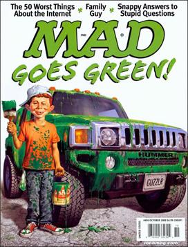 Mad #494 , October 2008