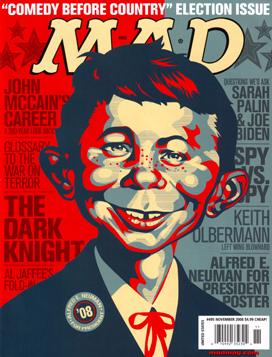 Mad Magazine #495 , November 2008