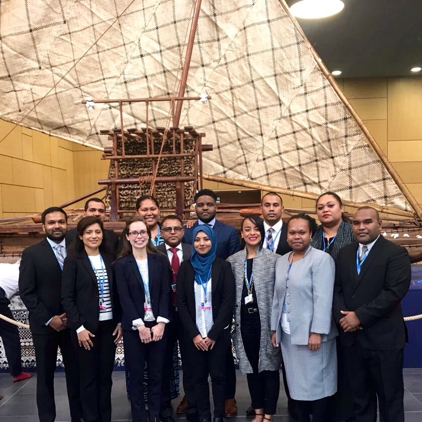 - November 1, 2017: Current and former AOSIS Fellows are in Bonn, Germany for UNFCCC COP23, presided over by Fiji.  For more information, visit cop23.com.fj