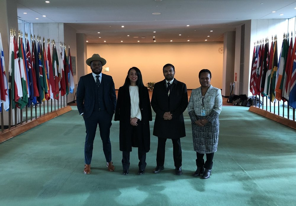 - December 18, 2017: The 2017 AOSIS Fellows graduated from the program with a ceremony at UN HQ in New York.