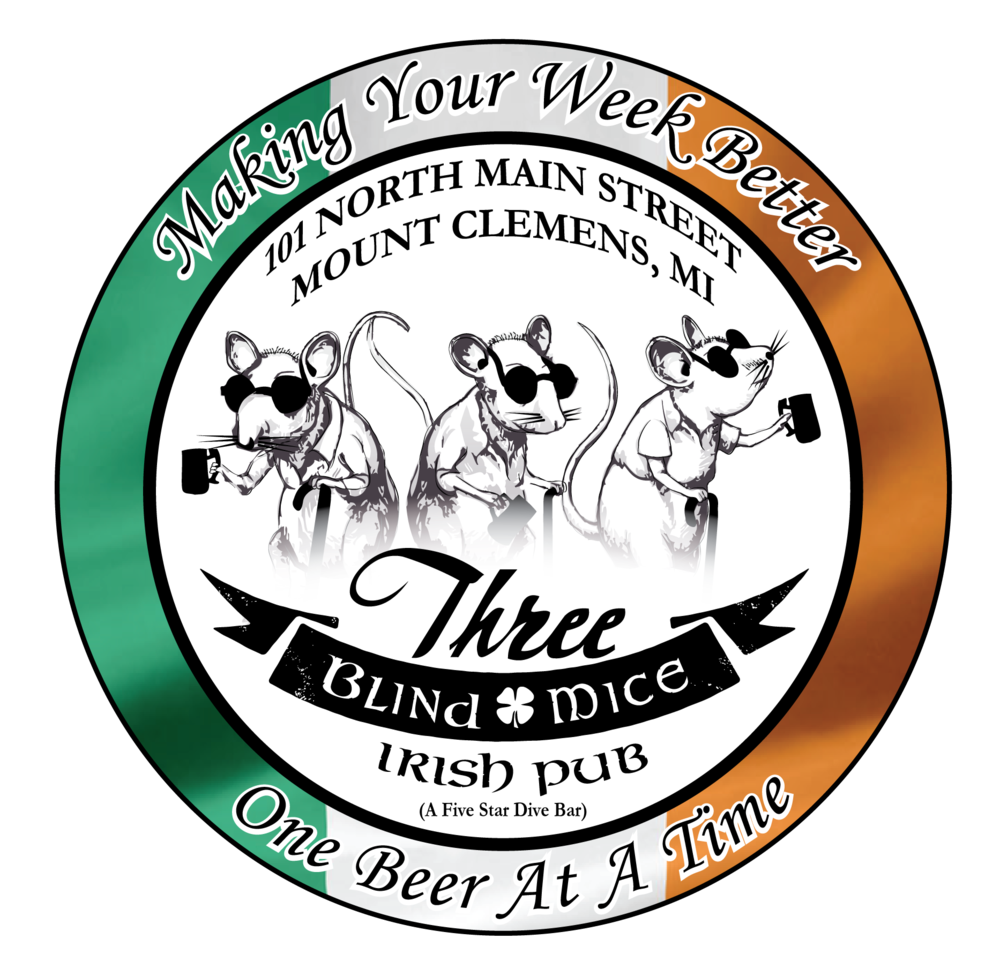 Three Blind Mice Irish Pub Logo.png