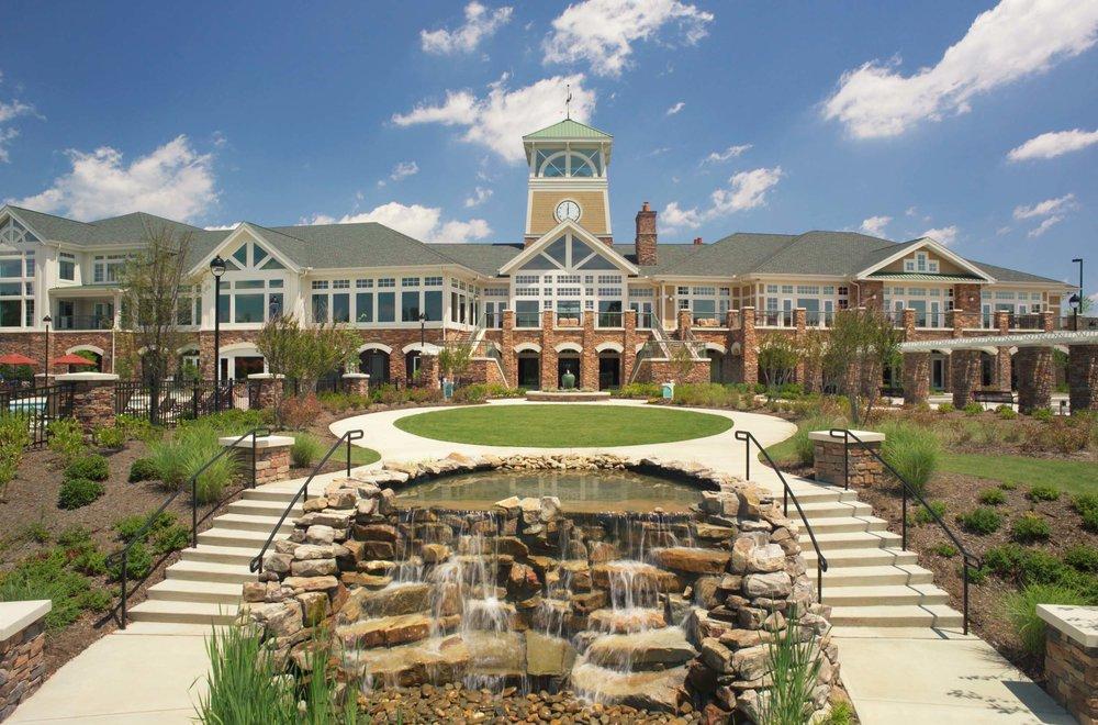 Carolina Preserve at Amberly </br><em>Cary, North Carolina</em>|recreation seniorhousing landscapearchitecture planning