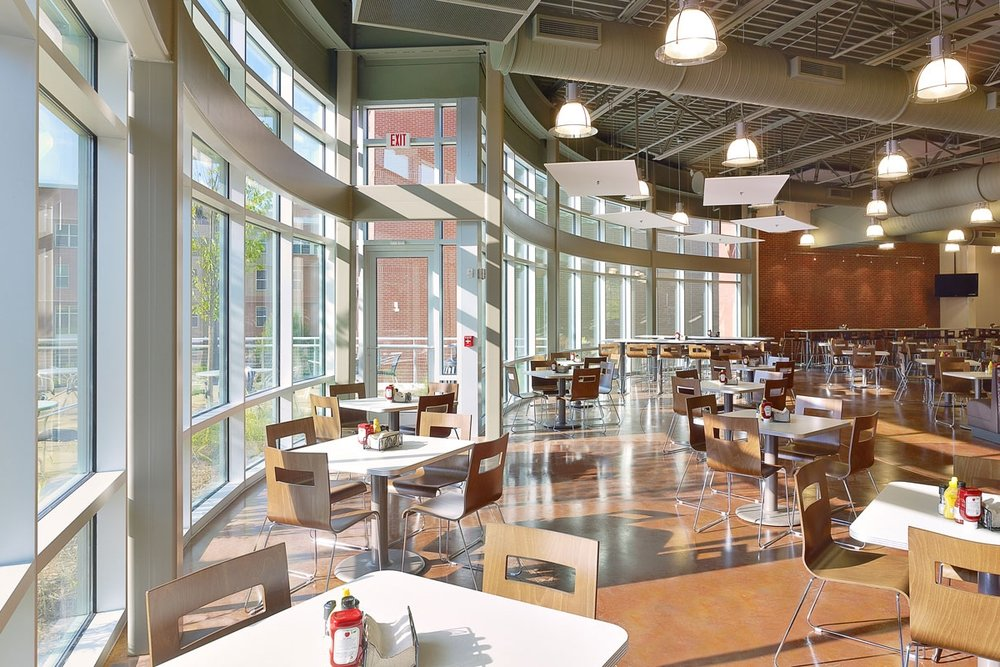 Southern Polytechnic State University - Hornet Village</br><em>Marietta, Georgia</em>|interiors