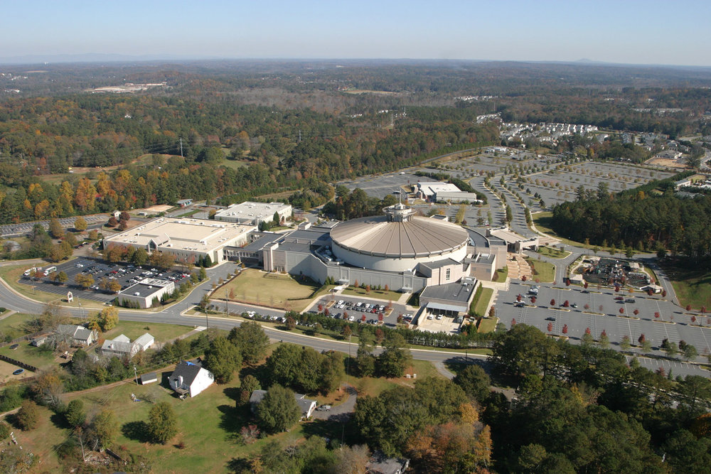 First Baptist Church of Woodstock</br><em>Woodstock, Georgia</em>|landscapearchitecture planning