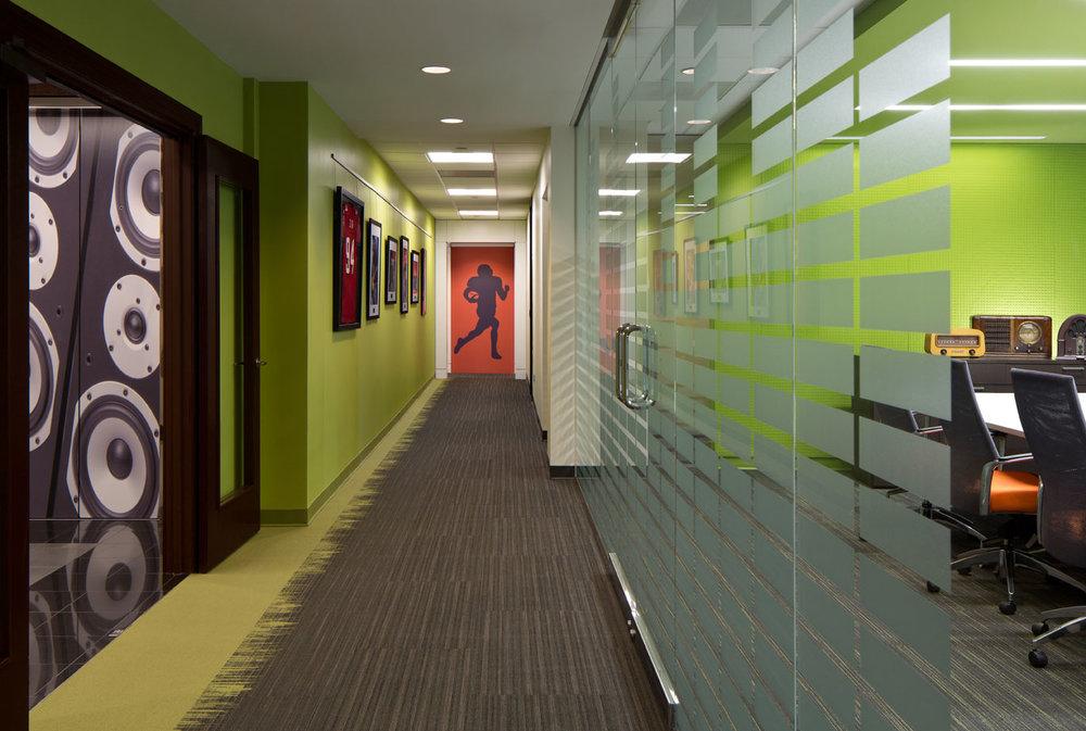 Lincoln Financial Media</br><em>Atlanta, Georgia</em>|corporate interiors