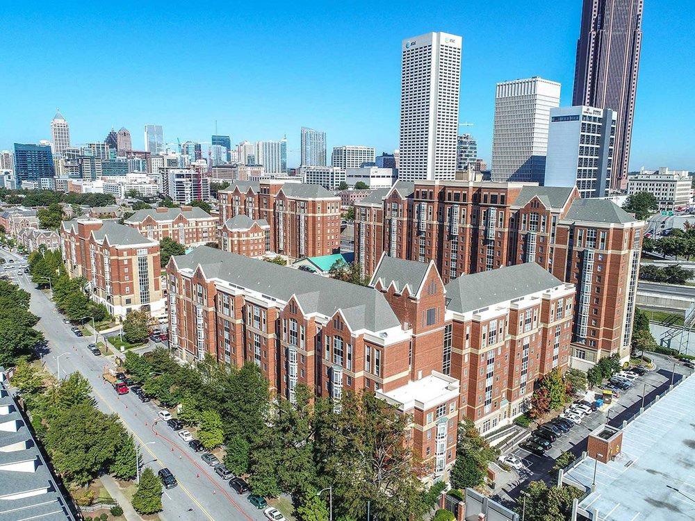 North Ave. Apartments</br><em>Atlanta, Georgia</em>|residencehalls architecture