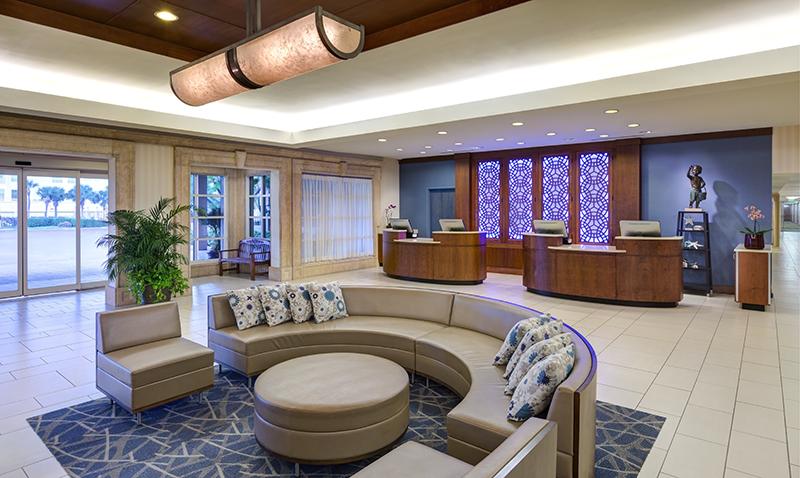 Sheraton Sand Key Resort</br><em>Clearwater, Florida</em>|interiors hospitality