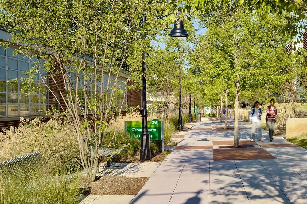 Southern Polytechnic State University - Hornet Village</br><em>Marietta, Georgia</em>|residencehalls landscapearchitecture planning