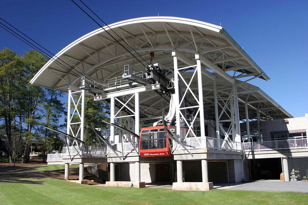 Stone Mountain Aerial Tram Station</br><em>Atlanta, Georgia</em>|transportation